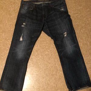 Men's American eagle jeans slim straight 38x30